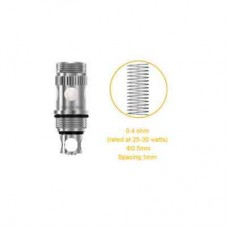 Aspire Triton 0.5 Ohm Clapton Replacement Coil 5-pack
